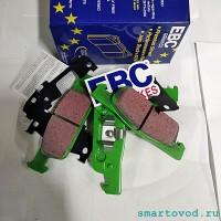 Колодки тормозные передние EBC Greenstuff Smart 453 ForTwo / ForFour 2014 - >