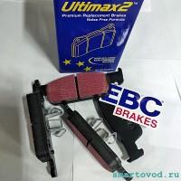 Колодки тормозные передние EBC Ultimax Smart 453 ForTwo / ForFour 2014 - >