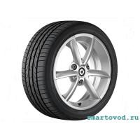Диск легкосплавный колесный задний R15 DESIGN 8 SMART 451 FORTWO 2007 - 2014