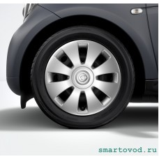 Колпак диска железного серебристый SMART FORTWO / FORFOUR 453 2014 -->