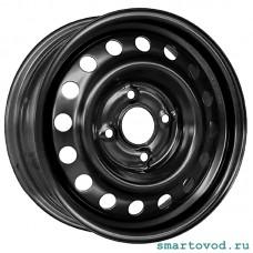 Диск колесный железный Smart ForTwo / ForFour 453 2014-> Черный