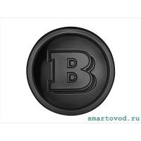 Колпачок / заглушка центрального отверстия диска легкосплавного черный Smart ForTwo / ForFour 453 Brabus 2014 -->