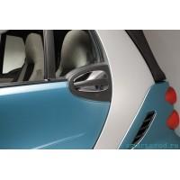 Накладка на ручку двери Хром, комплект SMART FORTWO 2007->