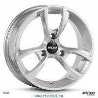 """Диски легкосплавные OXXO TRIAS silver 15"""" Smart 451 ForTwo 2007 - 2014 комплект 4 шт."""