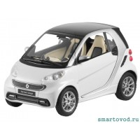 Smart ForTwo Купе БЕЛЫЙ 2012 1:43