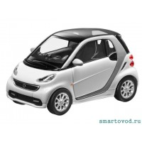 Smart ForTwo Купе БЕЛЫЙ 2012 1:87