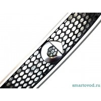 Объемный стикер лого хром SMART 451 ForTwo 2012 - 2014