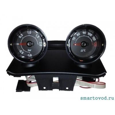 Дополнительные приборы передней панели (рожки) ЧЕРНЫЕ Smart Roadster