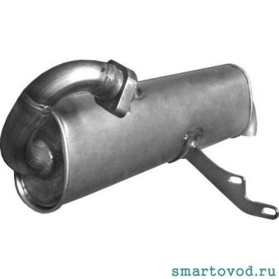 Выпускная система / Выхлоп / Глушитель / Катализатор Smart 450 ForTwo 1998 - 2007 (неоригинал)