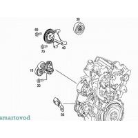 Ролик натяжителя приводного ремня Smart ForFour