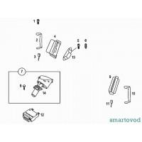 Блок управления подушками безопастности SMART ROADSTER