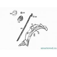 Подкрылок задний правый Smart ForTwo 2007->