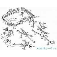 Балка задняя / усилитель бампера Smart ForTwo 2007->