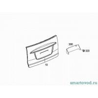 Панель наружняя двери багажника Smart ForTwo 2007->