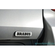 Наклейка BRABUS на крышку багажника Smart 451 ForTwo 2007 - 2014
