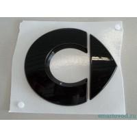 Объемный стикер / лого черный SMART 451 ForTwo 2007 - 2012