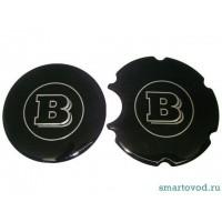 Наклейка крышки бензобака и воздуховода Brabus Smart ForTwo 98-07