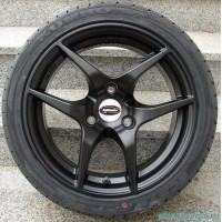 "Диски легкосплавные TEAM DINAMICS EAGLE Racing Black 16"" Smart 451 ForTwo 2007 - 2014 комплект 4 шт."