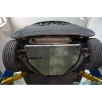 Защита алюминий картера двигателя и КПП Smart ForTwo 2007 - 2014