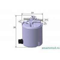 Фильтр топливный Smart ForTwo CDI 2007-> USA / CANADA