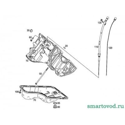 Прокладка сливной пробки Smart ForTwo / ForFour 453  2014->