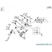 Датчик / клапан регулирования давления топлива Smart ForTwo CDi 1998-2007