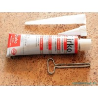 Герметик-прокладка серый эластичный, 70ml (-50°C/+180°C)