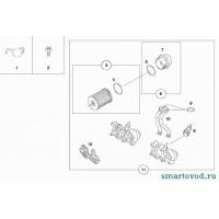 Прокладка основания / корпуса масляного фильтра Smart 450 / 452 ForTwo / Roadster 1998 - 2007