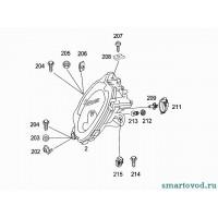 Фара передняя головного света левая Smart ForTwo 98-02