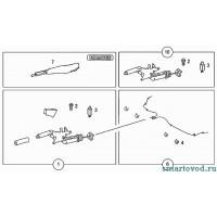 Трос стояночного тормоза Smart ForTwo / Roadster 98-07