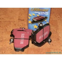 Колодки тормозные передние EBC Ultimax Smart ForTwo / Roadster