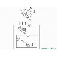 Шпилька крепления выпускного коллектора 0.6L Smart ForTwo 98-02
