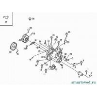 Сальник первичного вала КПП Smart ForTwo / Roadster 98-07