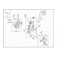 Направляющая цепи ГРМ Smart ForTwo / Roadster 98-07