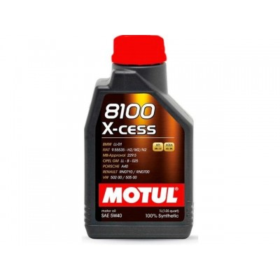 Масло моторное Motul 8100 X-cess 5W-40 для Smart ForTwo / Roadster / ForFour