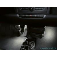 Подсветка Brabus под ногами Smart ForTwo 2007-
