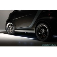 Боковая подсветка Brabus Smart ForTwo 2007->