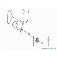 Ремень кондиционера Smart ForTwo / Roadster 98-07