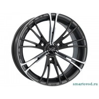 Диск задний OZ Racing X2 15' MATT GUN MET FULLPOLISHED Smart ForTwo