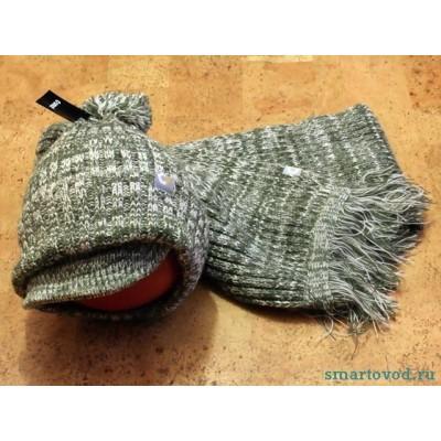 Зимний набор Шапка и Шарф Smart / woolly hat set ecological
