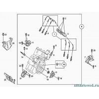 Опора / подушка двигателя, справа Smart ForTwo / Roadster 98-07
