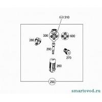 Трансмиттер (шляпка ключа) Smart ForTwo 2007->
