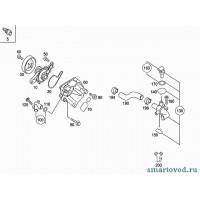 Прокладка штуцера системы охлаждения Smart ForTwo / Roadster 98-07
