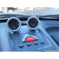 Дополнительные приборы передней панели (рожки) СЕРЫЕ Smart Roadster