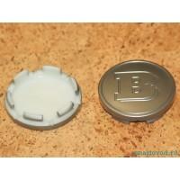 Колпачок / заглушка диска легкосплавного матовое серебро Smart Brabus