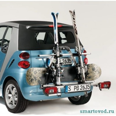 Багажник / кронштейн для лыж Smart ForTwo 2007->