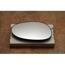 Зеркало / элемент / вставка левая с обогревом Smart 450 ForTwo / 452 Roadster 1998 - 2007 (сферическое)