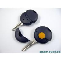 Корпус ключа однокнопочного с жалом Smart ForTwo 98-02