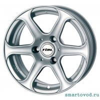 Диски колесные легкосплавные RIAL LE MANS R15 Smart 451 ForTwo  2007 - 2014 , комплект 4 шт.