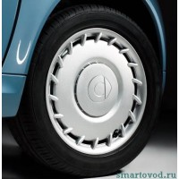 Колпак колеса железного Smart ForTwo 1998-2014